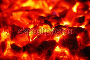 Углях в духовке