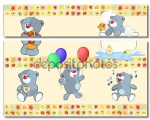 Мягкие медвежата