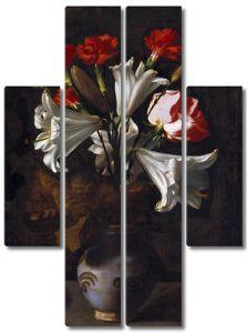 Хуан Фернандес.   Ваза с цветами