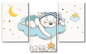 Медвежонок на облачке