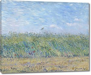 Ван Гог. Пшеничное поле с жаворонком