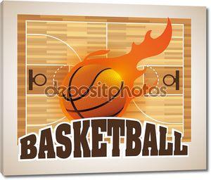 баскетбол дизайн