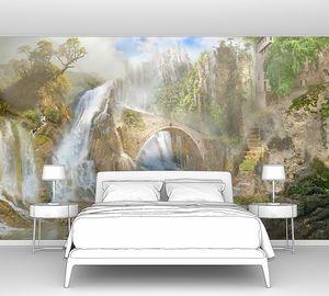 Невероятные водопады в лесу