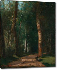 Камиль Писсарро. Пропавшая в лесу