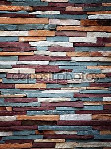 Красочные каменной стены текстуры