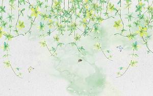 Мелкие зеленые цветы