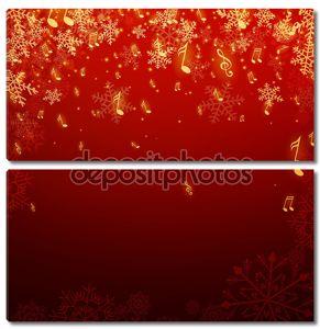 векторные рождественские открытки