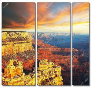 Офигительный вид на каньон