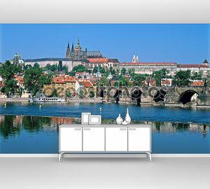Пражский Град, реку Влтава