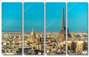 Вид на Эйфелеву башню, Франция