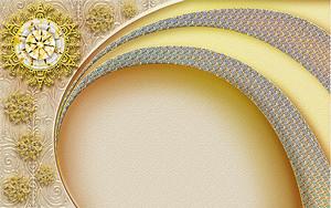 Золотые солнышки с полосочками
