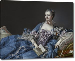 Франсуа Буше. Портрет мадам де Помпадур