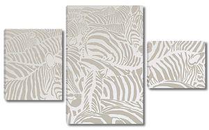 Орнамент из зебр