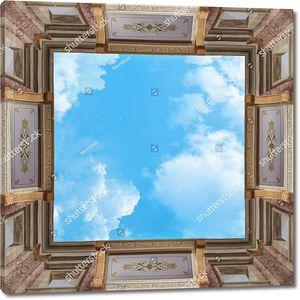 Небо в световом окне