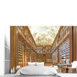 Библиотека в Страговский монастырь в Праге