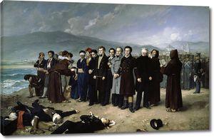 Гисберт Перес Антонио. Расстрел Торрихоса и его товарищей на пляжах Малаги