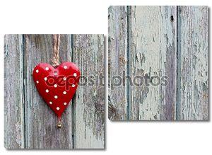 Красные и белые пятнистые Романтика