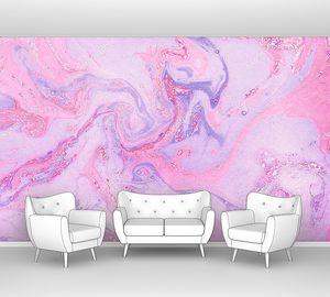 Розовый флюидный фон