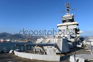 Крейсер «Михаил Кутузов» на причале в Новороссийске