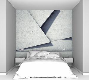 Геометрическая абстракция в бетоне