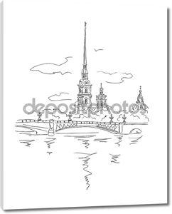 Крепость Петра и Павла в СПб