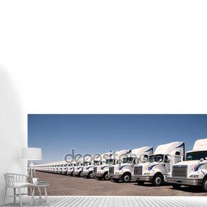 полу парк грузовиков