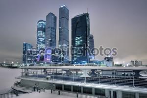 небоскребы в Москве