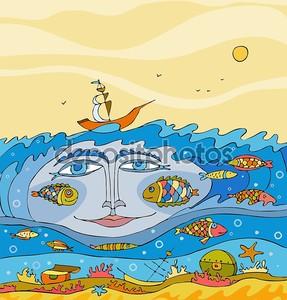 Живое море
