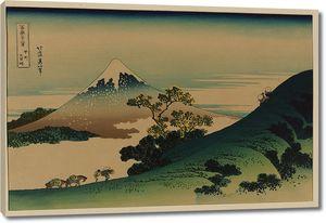 Кацусика Хокусай. Перевал Инумэ в провинции Каи