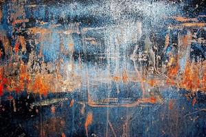 гранж краска на металлических фоне