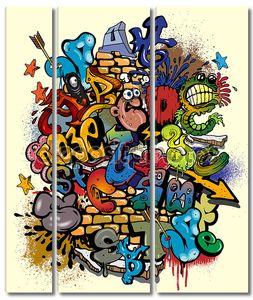 элементы граффити