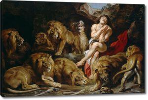 Рубенс. Даниил в яме со львами