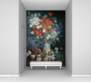 Ван Гог. Натюрморт с полевыми цветами и розами