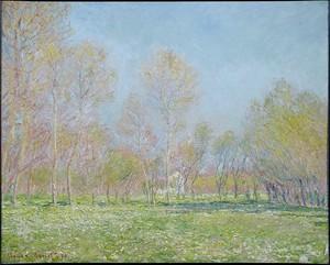 Моне Клод. Весна в Живерни, 1890