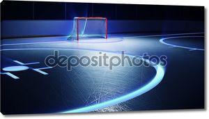 хоккейный каток