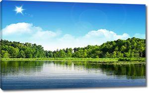 Ясный день на озере