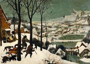 Питер. Брейгель. Охотники на снегу – январь