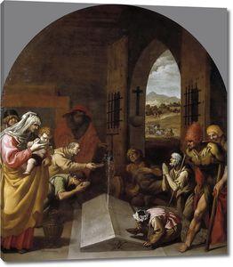 Кардучо Висенте. Чудо на могиле святого Бруно