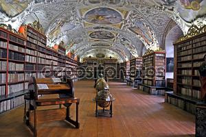Библиотека страхов в Праге