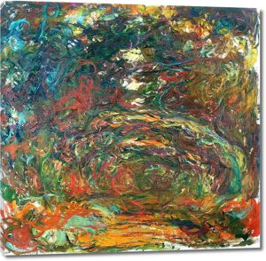 Моне Клод. Aрка из роз, Живерни, 1920-22 02