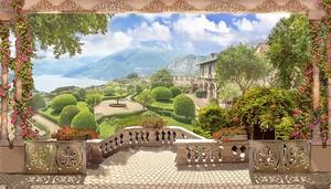 Терраса с видом на невероятный парк