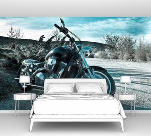Мотоцикл на природе
