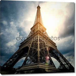 Эйфелева башня - Париж Франция