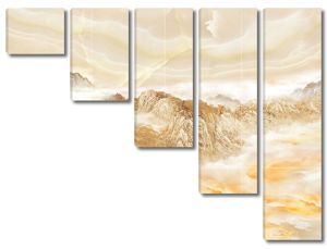 Скалы на мраморе