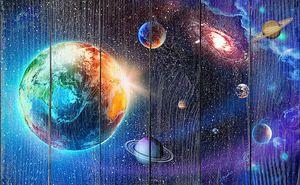 Земля в открытом космосе