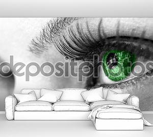 Зеленые глаза - красивые, женственные