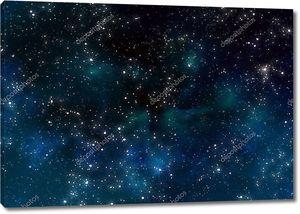 Звезды в космическом пространстве