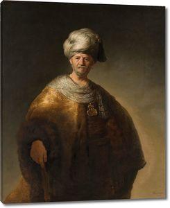 Рембрандт. Человек в восточном костюме (Благородный славянин)