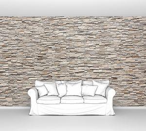 Каменная стена из декоративного камня