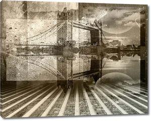 Картинка с огромным мостом